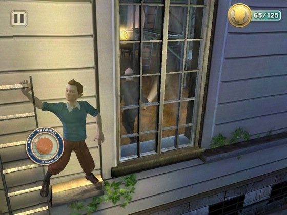 TinTin iOS game screenshot
