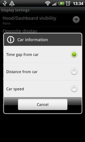 iOnRoad Augmented Driving app screenshot