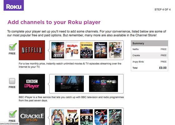 Roku 2 XS IPTV player