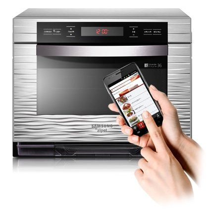Samsung Zipel app-operated oven