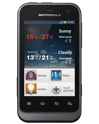 Motorola Defy Mini rugged Android smartphone