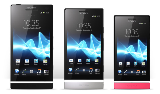 Sony Xperia U, P and S