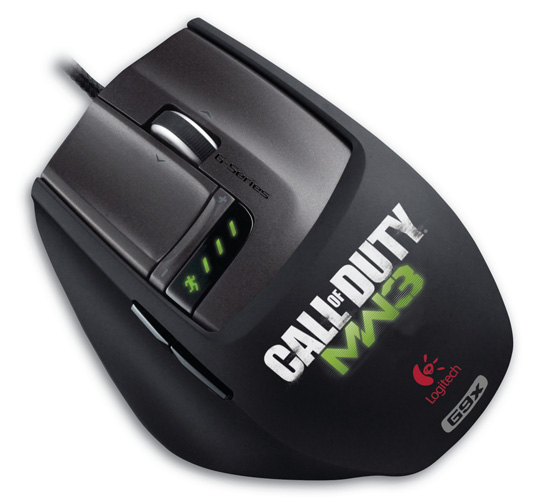 Logitech Laser Mouse G9X Gaming Mouse
