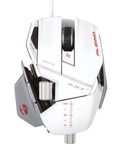 MadCatz Cyborg R.A.T 7 The Albino Gaming Mouse