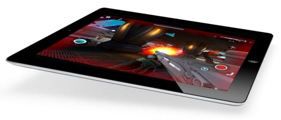 iPad 2 running NOVA