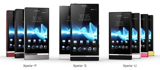 Sony Xperia Nxt Series
