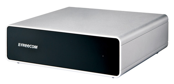 Freecom Quattro FireWire 800 external hard drive
