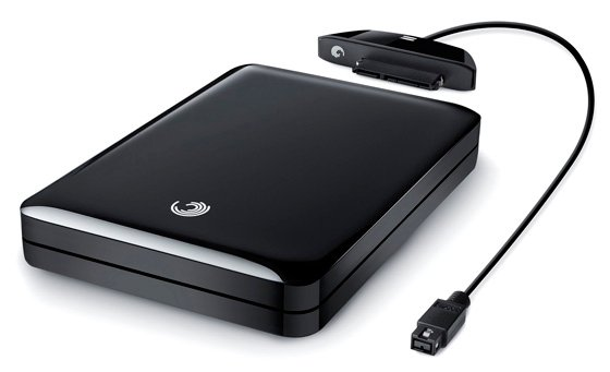 Seagate GoFlex FireWire 800 external hard drive