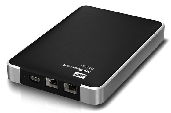 WD My Passport Studio FireWire 800 external hard drive