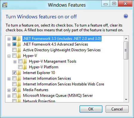 Windows 8 Hyper V