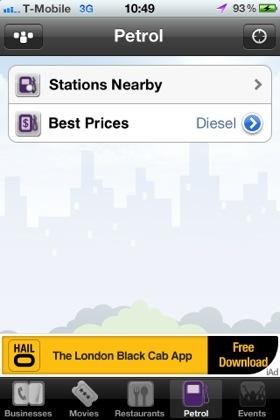 Poynt iOS app screenshot