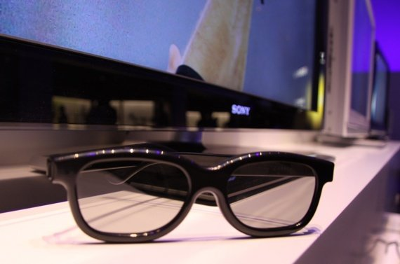 Sony passive 3D specs