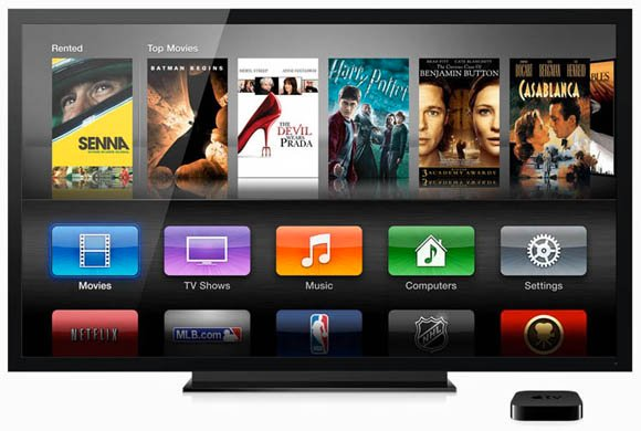 Apple TV interface