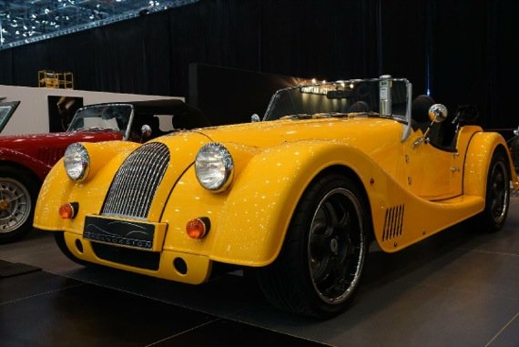 Morgan Plus E concept