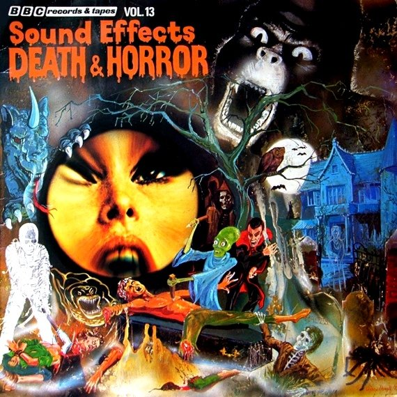 BBC Death and Horror Sound Effects LP
