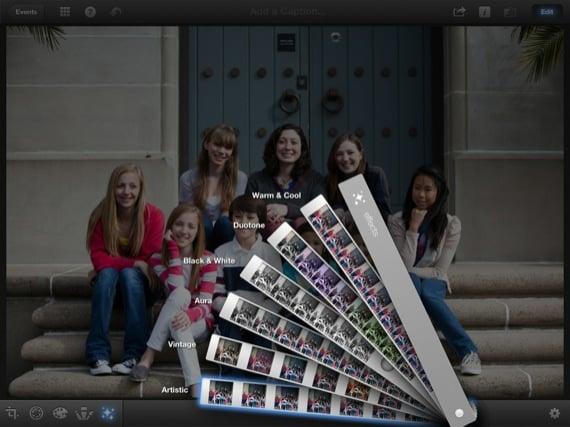 Apple iPhoto iOS app screenshot