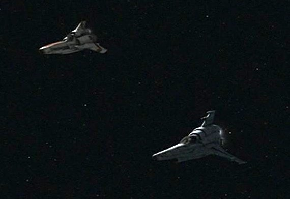 Battlestar Galactica Vipers