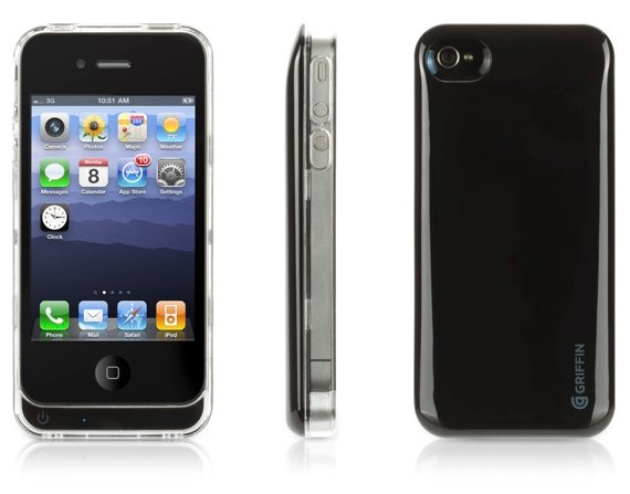 Griffin Reserve battery case for iPhone