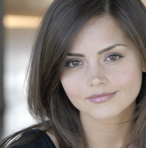 Dr Who's new companion Jenna-Louise Coleman