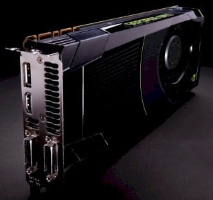 Nvidia Kepler GeForce GTX 680 graphics card