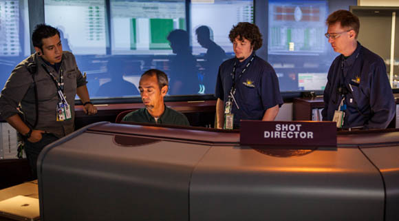 The Control Room staff at the National Ignition Facility