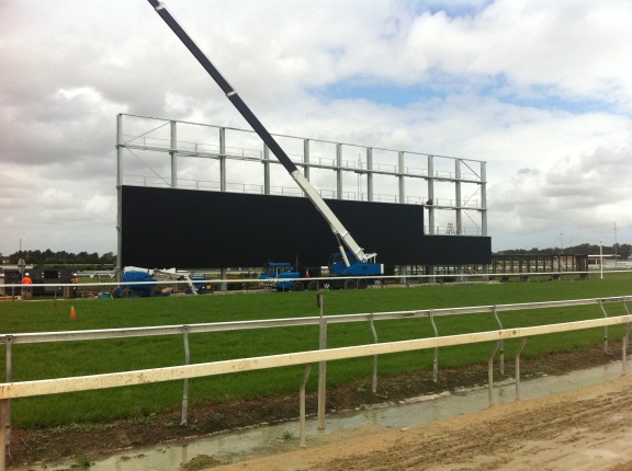 Rosehill's giant screen