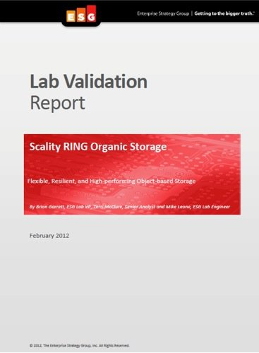 ESG Scality Report