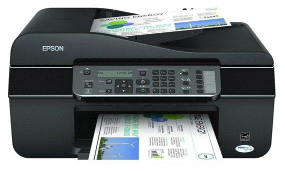 Epson Stylus Office BX305FW ADF all-in-one inkjet printer