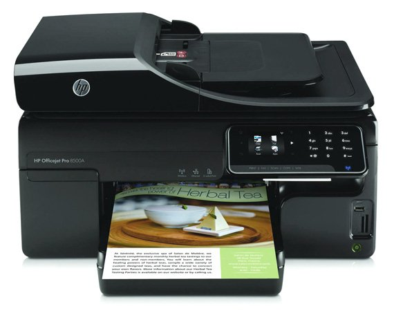 HP Officejet 8500A ADF all-in-one inkjet printer