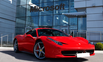 5 days left to join Microsoft Virtual Academy and win a Ferrari weekend! fe