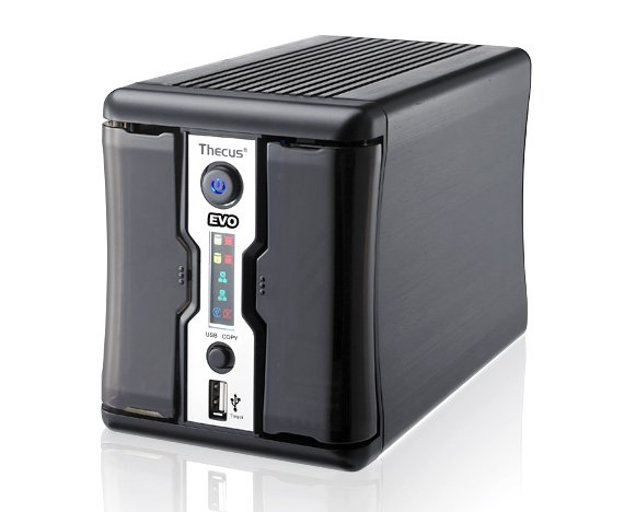 Thecus N2200 EVO dual-bay NAS drive