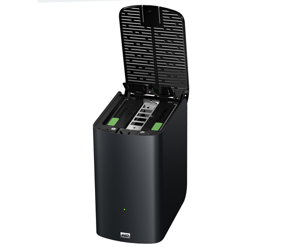 Western Digital My Book Live Duo dual-bay NAS drive