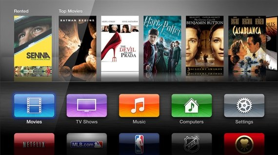 Apple TV third-gen UI