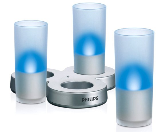 Philips Imageo Aqua candle lamps