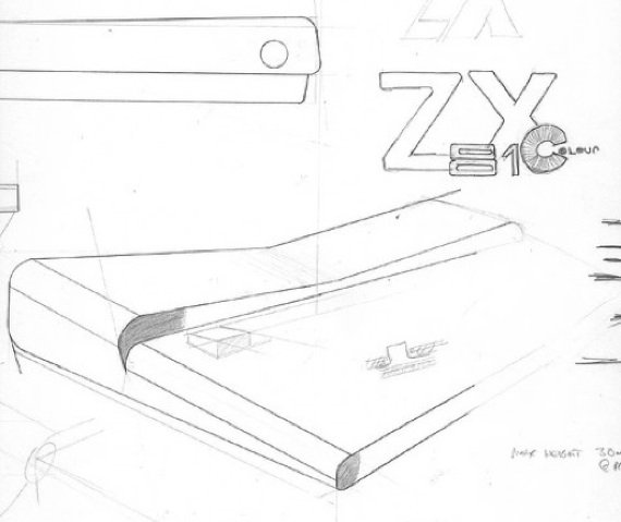 Sinclair ZX Spectrum sketch