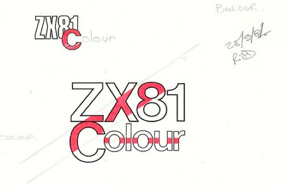 Sinclair ZX81 Colour logotypes