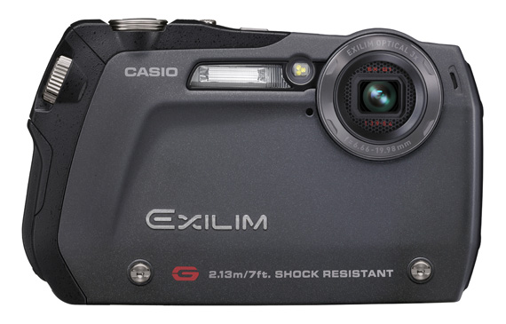 Casio Exilim EX-G1 rugged camera