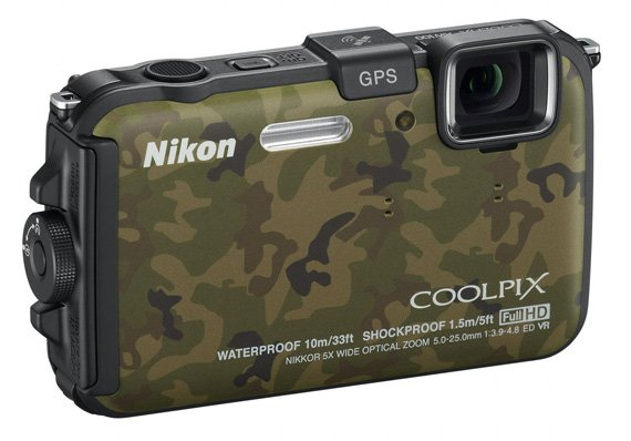 Nikon Coolpix AW100 rugged camera