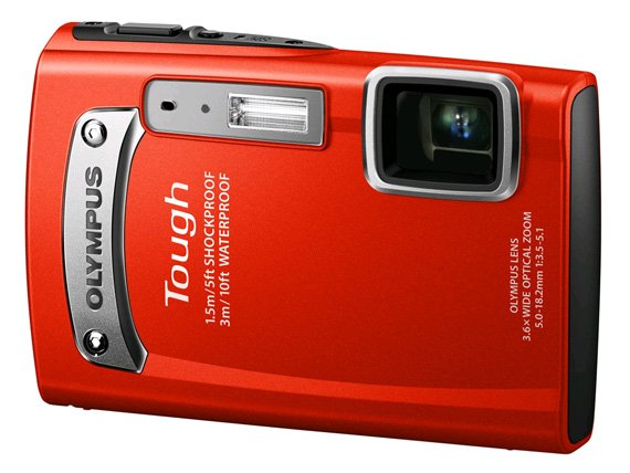 Olympus TG-320 rugged camera