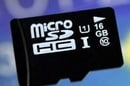 Samsung UHS-1 microSD card