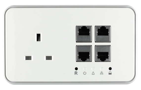 Solwise Net-pl-200av-wall-4pe