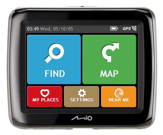 Mio Spirit 380 satnav