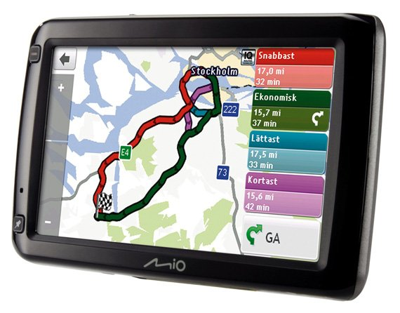 Mio Spirit 687 satnav