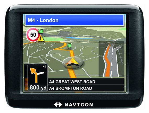 Navigon 20 Easy satnav