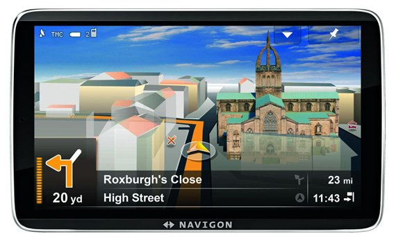 Navigon 92 Premium Live satnav