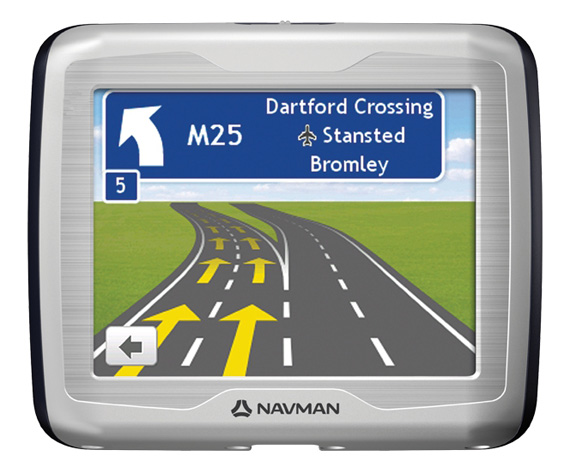 Navman Ezy satnav