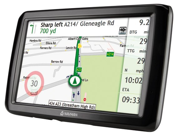 Navman Panoramic satnav