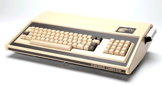 Exidy Sorcerer. Source: The Old Computer