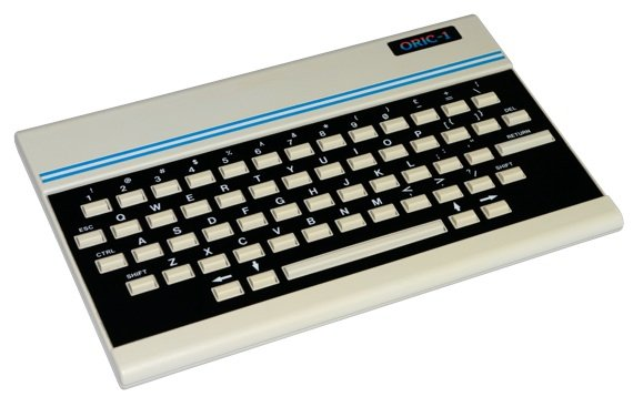 Oric-1. Source: Retro Bytes Portal