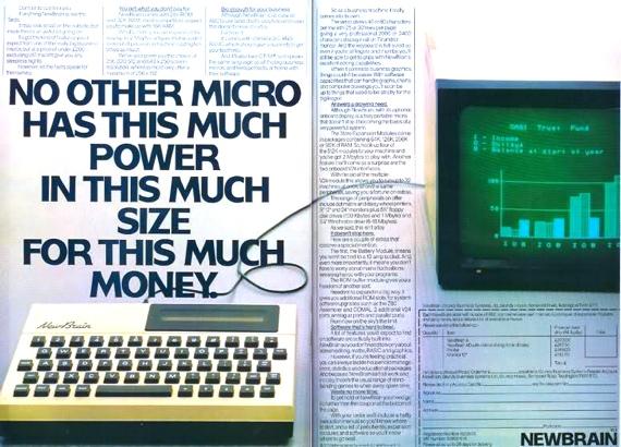 Grundy NewBrain advert